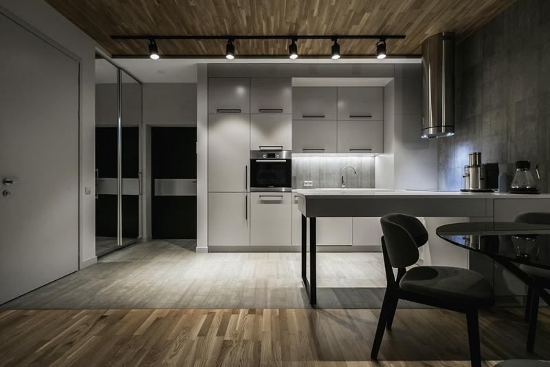 Plano de departamento pequeño un dormitorio | Construye Hogar