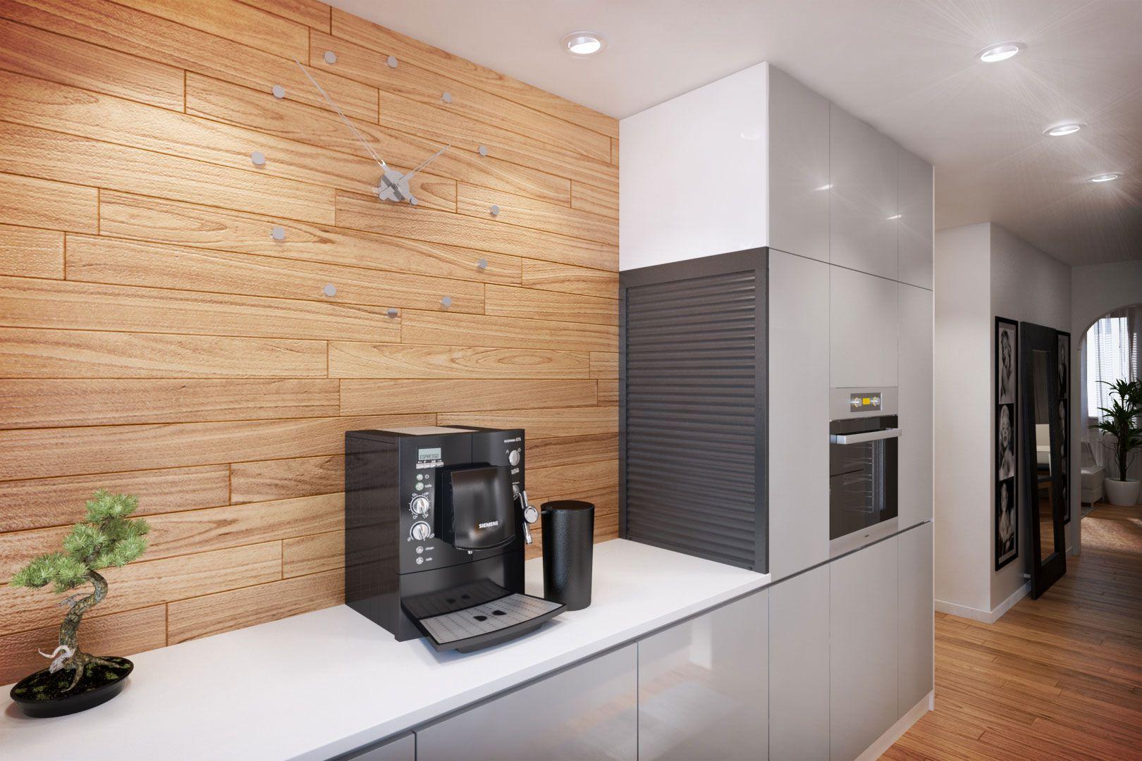 Dise o departamento peque o 62 m planos construye hogar - Panelados para paredes ...