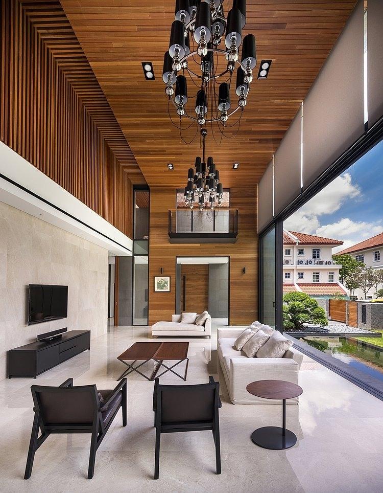 Dise 241 O De Casa Moderna Terreno Grande