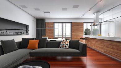 Photo of Diseño de departamento de tres dormitorios, descubre como generar amplios ambientes interiores