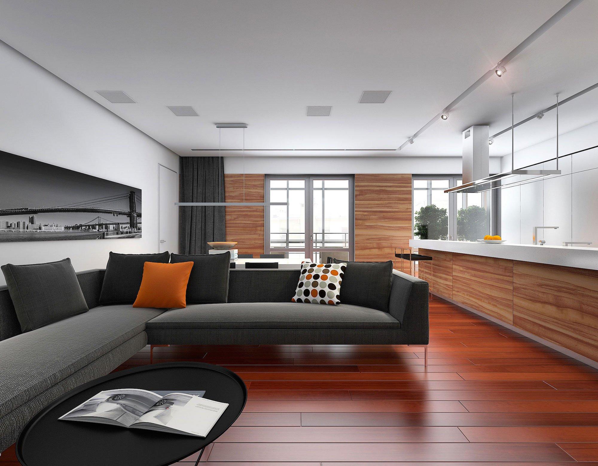 Plano de departamento de tres dormitorios construye hogar for Cocinas para departamentos modernos