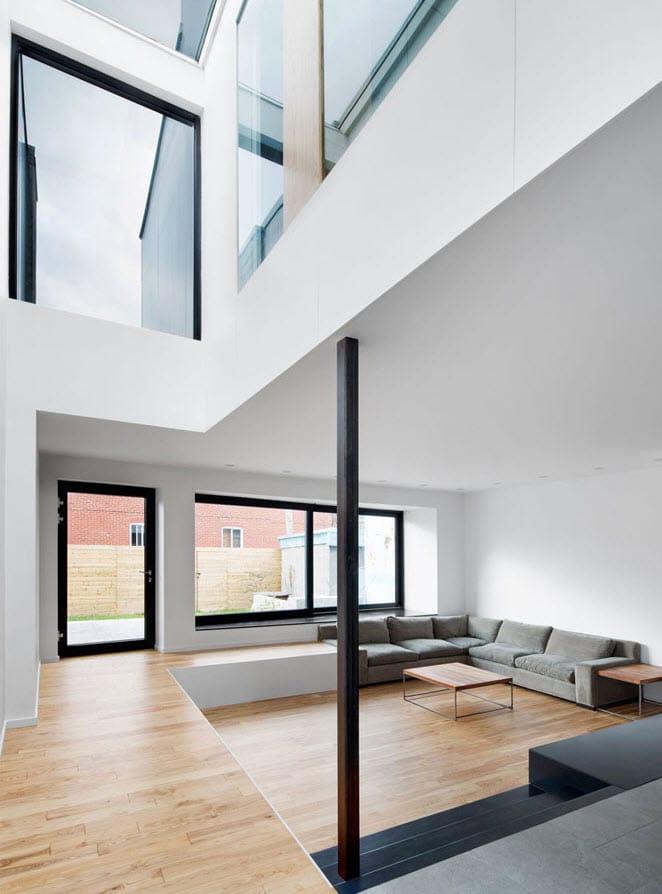 Planos de casa de dos pisos tres dormitorios construye for Ambientes interiores de casas