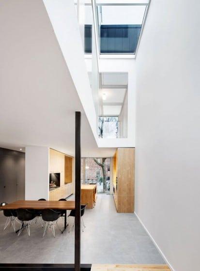 Planos de casa de dos pisos tres dormitorios construye for Casa y diseno cocinas