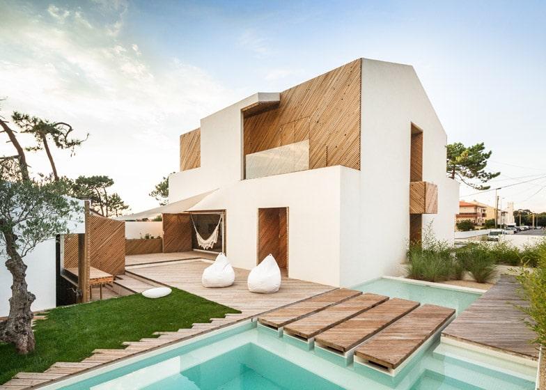 Planos de casa moderna dos pisos construye hogar for Imagenes de techos de casas modernas