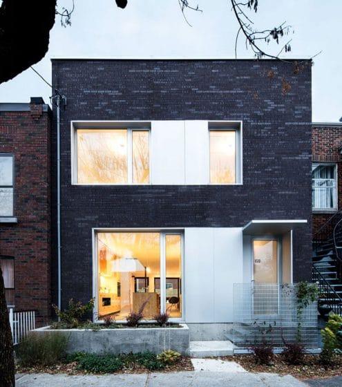 Planos de casa de dos pisos tres dormitorios for La casa moderna