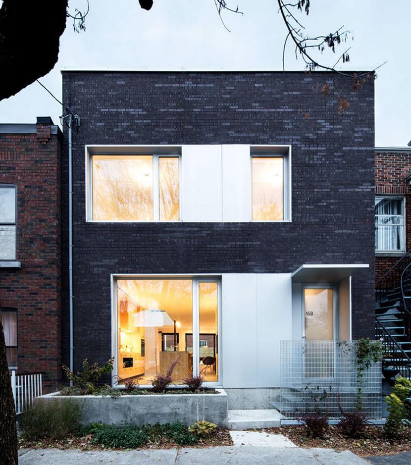 Planos de casa de dos pisos tres dormitorios for Casas modernas ladrillo