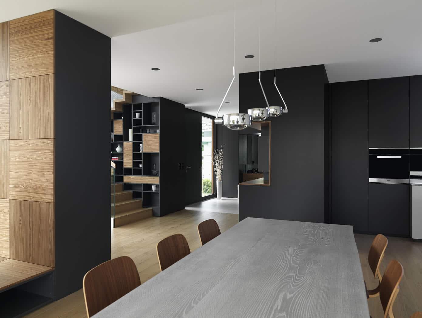 planos de casa de dos plantas moderna construye hogar