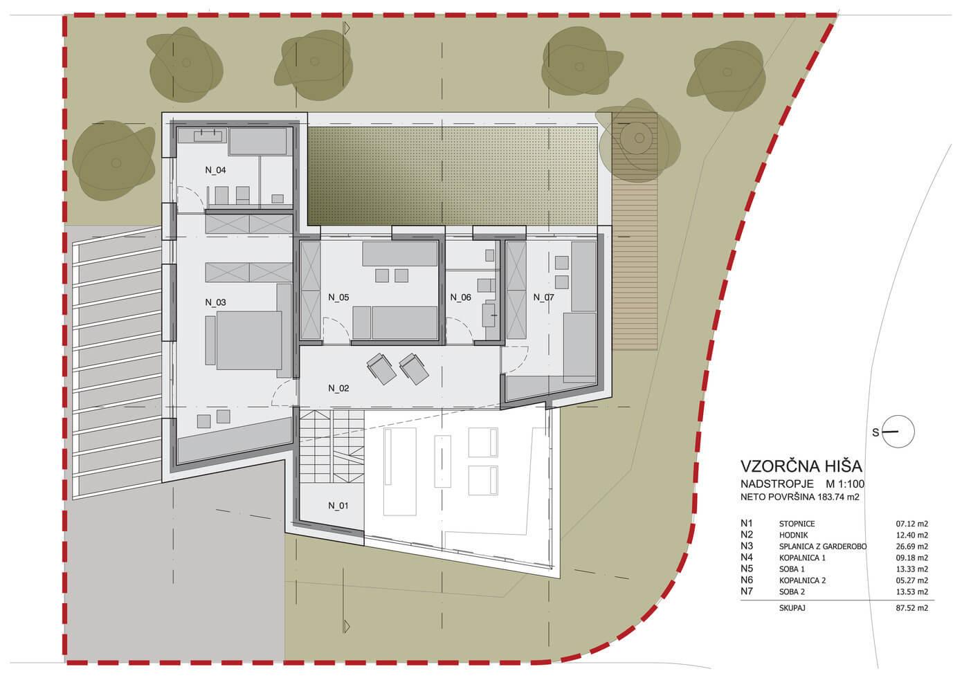 Planos de casa de dos plantas moderna for Planos de casas pequenas de dos plantas