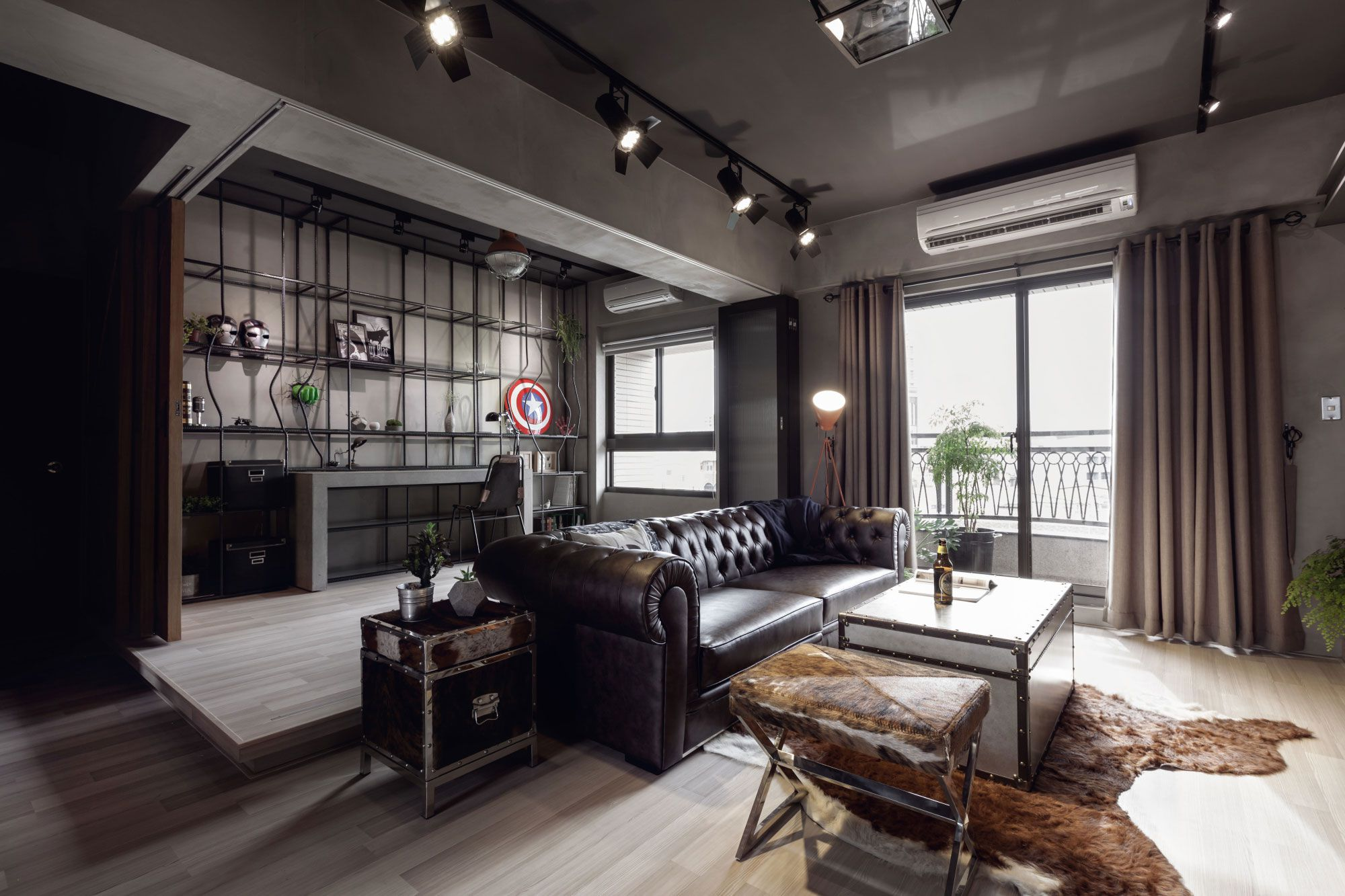 Dise o departamento dos dormitorios planos construye hogar - Tv en habitacion ...
