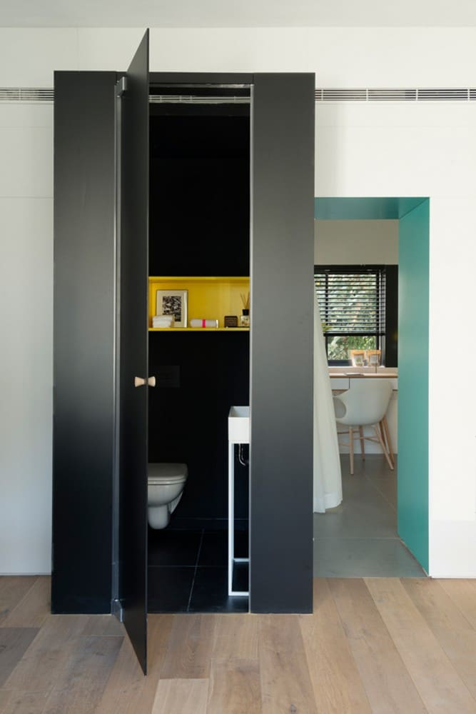 Departamentos peque os 55 metros cuadrados construye hogar for Banos departamentos pequenos