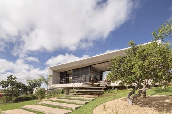Diseño de casas moderna de un piso