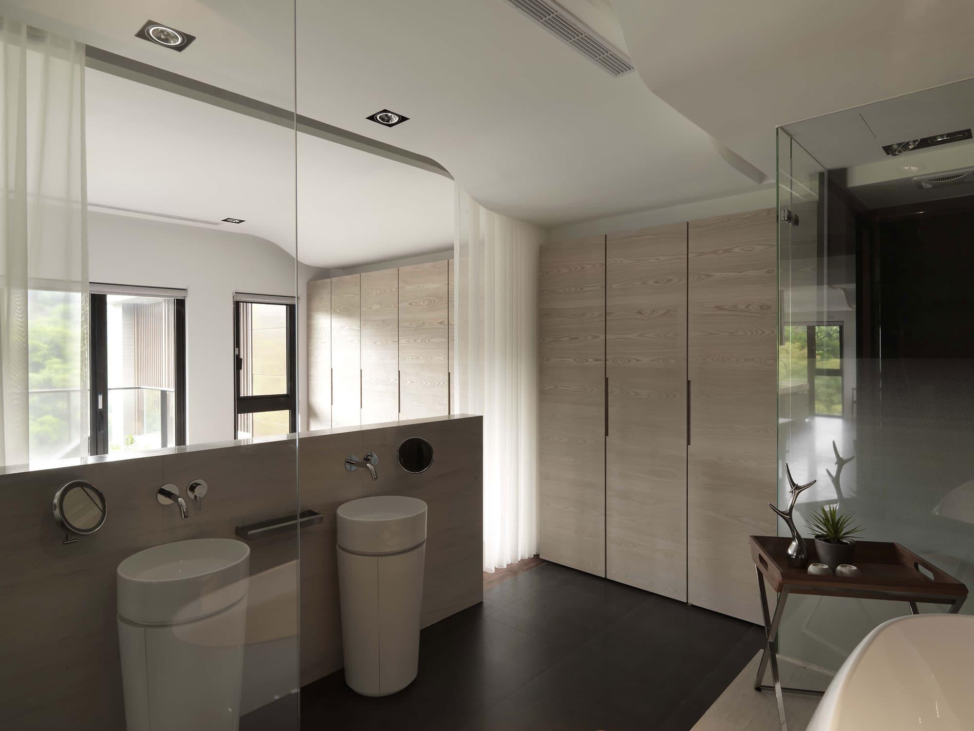 Planos de departamento de un dormitorio for Diseno de interiores banos