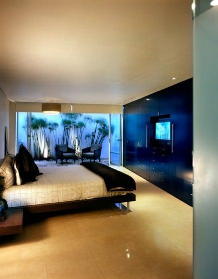 Diseño de dormitorio de casa moderna