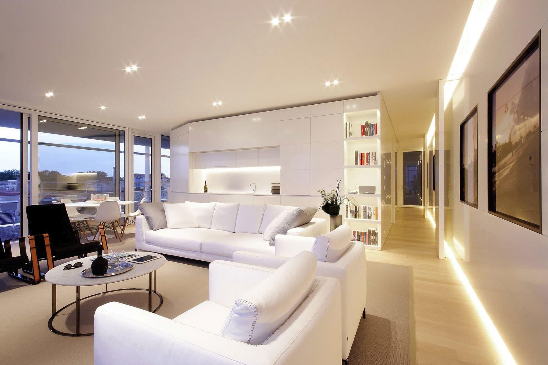 Plano departamento peque o dos dormitorios for Salas para departamentos pequenos