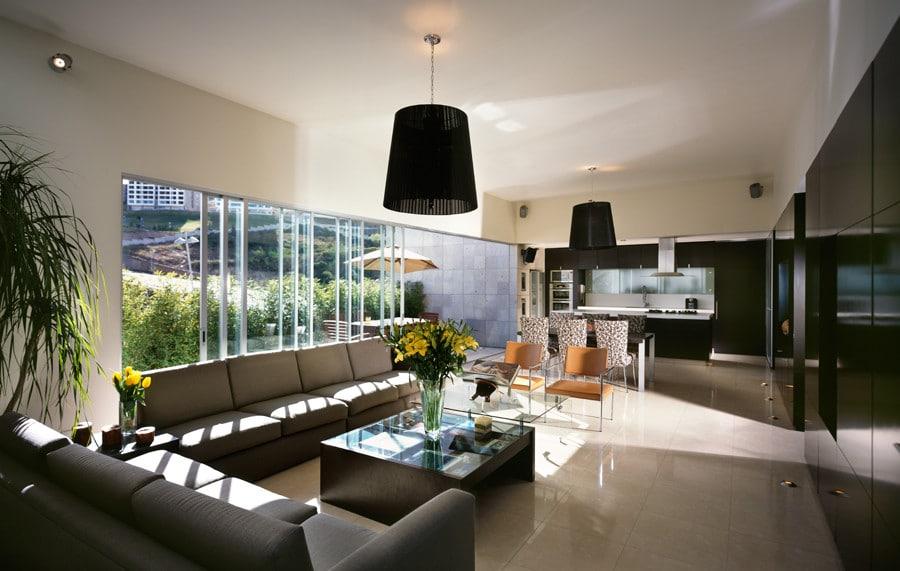 Casa moderna dos pisos tres dormitorios - Diseno de casas interiores ...