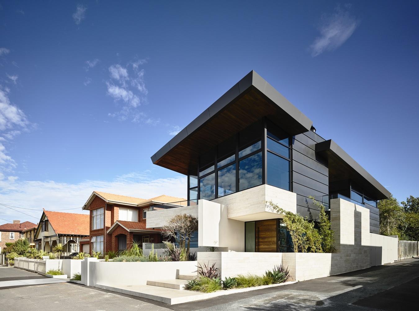 Planos de casa moderna de dos pisos for Planos para casas de dos pisos modernas