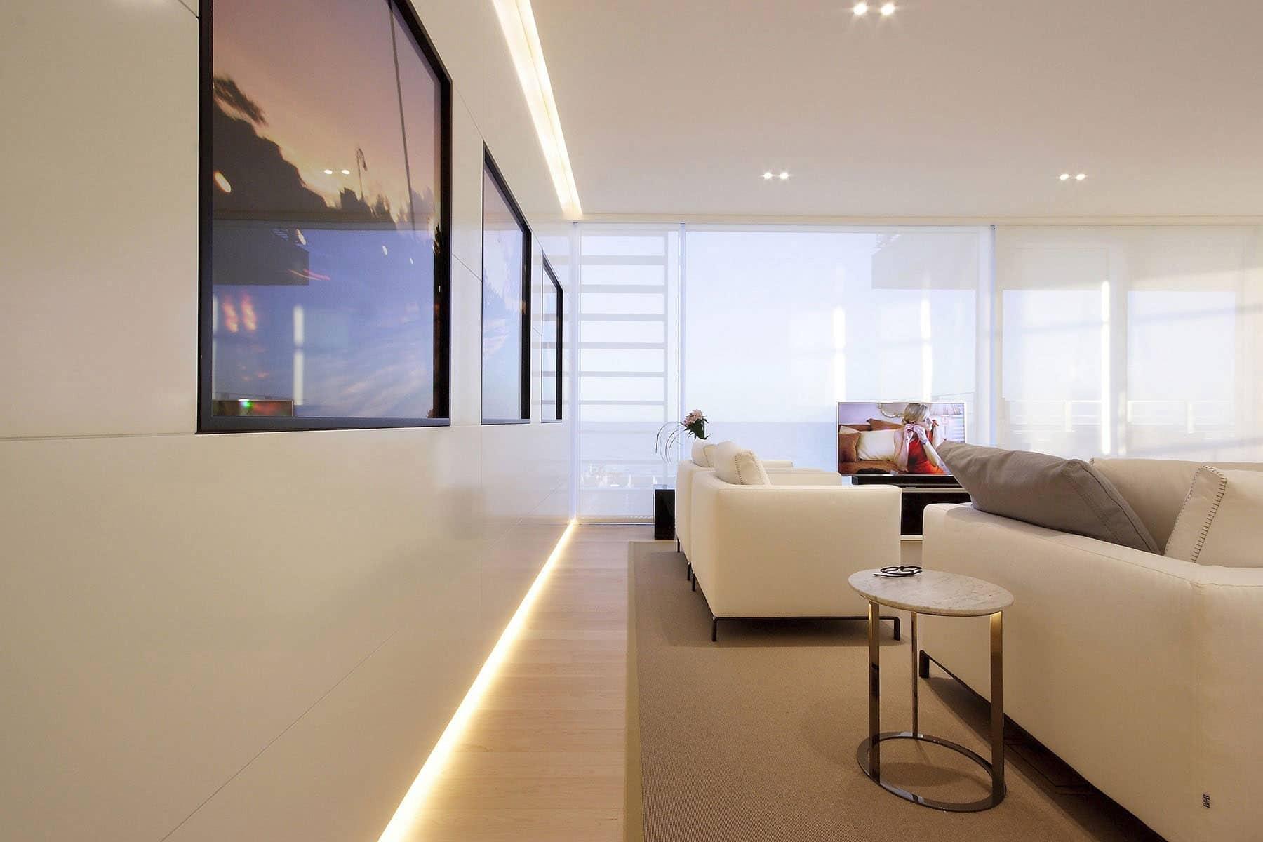 Plano departamento peque o dos dormitorios construye hogar for Distribucion departamentos modernos