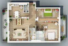 Photo of Planos de departamentos de dos dormitorios, selección de 50 diseños que te inspiraran en la construcción