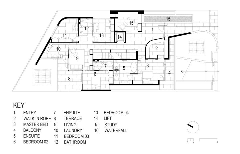 Planos de casa moderna de dos pisos construye hogar for Planos de pisos grandes