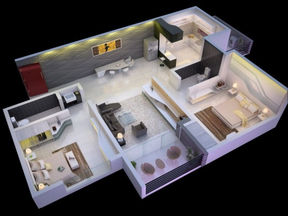 Casa decoración moderna