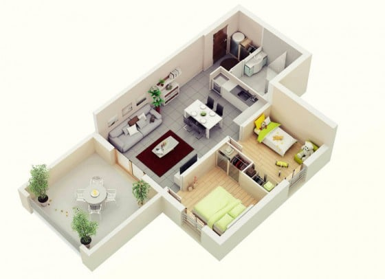 Ideas de casas en terrenos pequeños