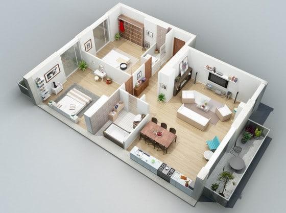 Ideas para construir en terreno pequeño