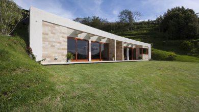 Photo of Casa moderna de un piso de 140 metros cuadrados, diseño de techo verde y otros recursos de viviendas ecológicas