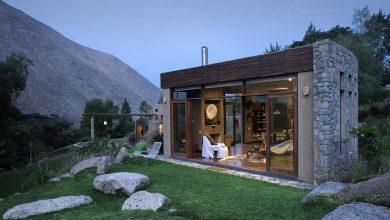 Photo of Diseño de casa de campo construida con materiales autóctonos