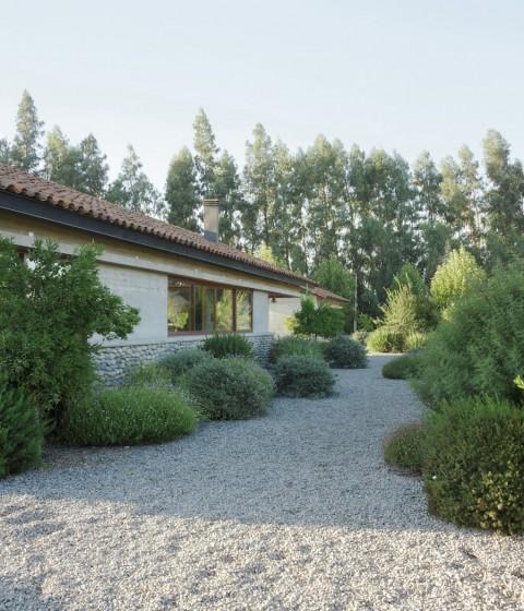 Diseño de casa rural de un piso