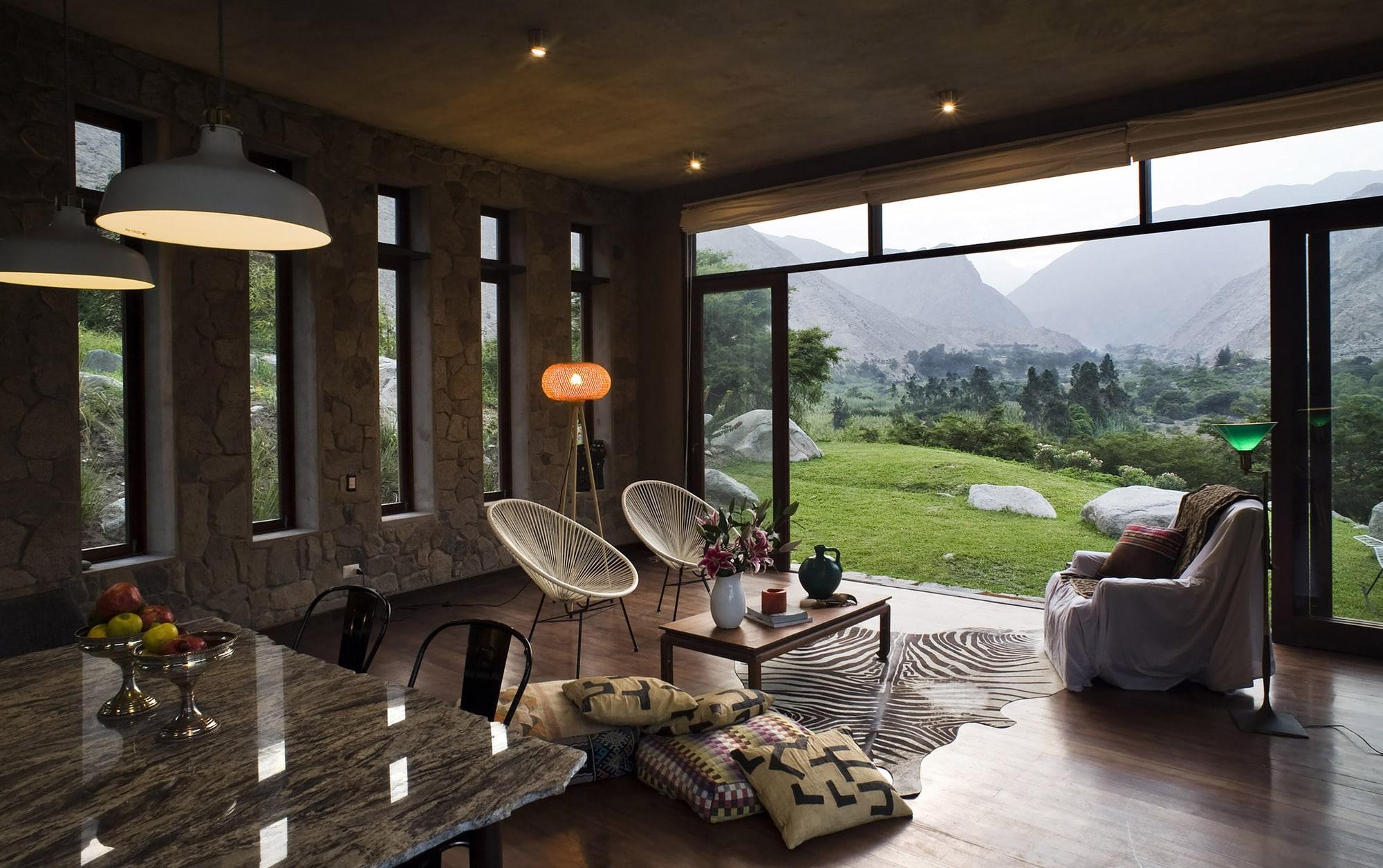 Dise o casa de campo tradicional construye hogar - Diseno casa rustica ...