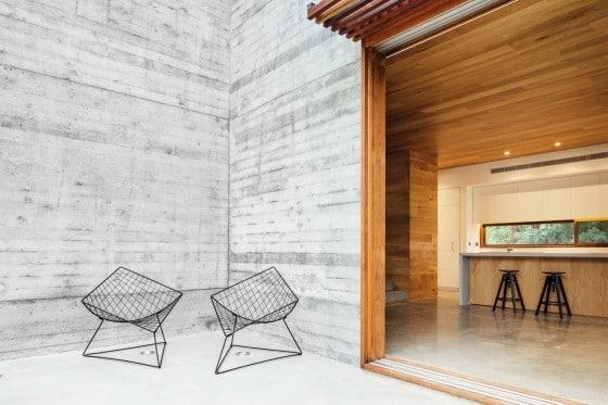Diseño de sillas moderna acero para terraza