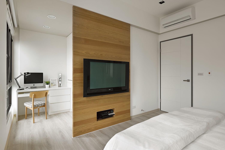 Plano y dise o de interiores departamento for Diseno de habitacion principal pequena
