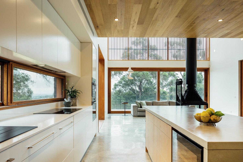 Dise o moderna casa campo dos pisos construye hogar for Piso rustico moderno