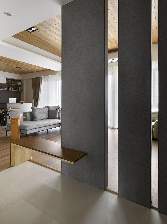 Plano y dise o de interiores departamento construye hogar for Mueble separador de ambientes