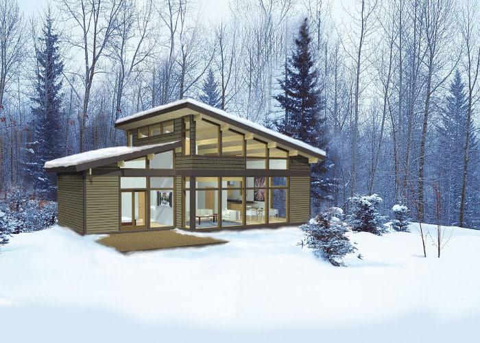 Dise o casas de campo de madera construye hogar - Casas de campo madera ...