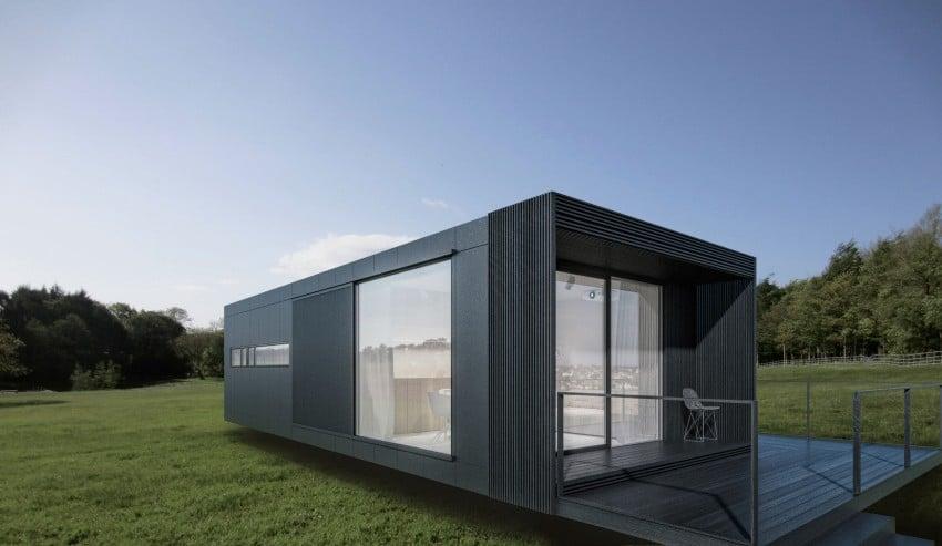 Casa sencilla de un piso en 46 m for Petite maison design