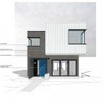 Diseño casa dos pisos moderna