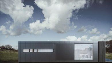 Photo of Sencilla y moderna casa de un piso de 46 metros cuadrados, descubre el sorprendente diseño de interiores