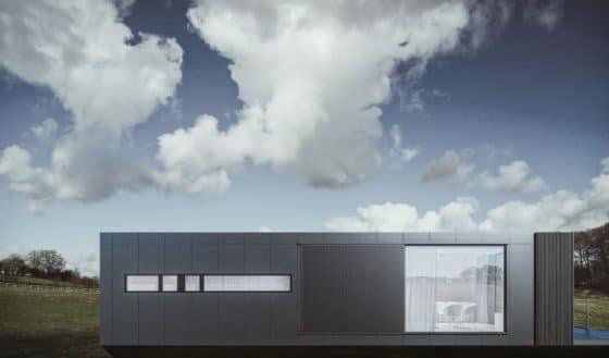 Diseño de fachada casa pequeña