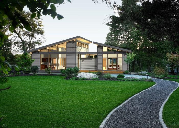 Dise o casas de campo de madera for Modelos de casas de campo modernas