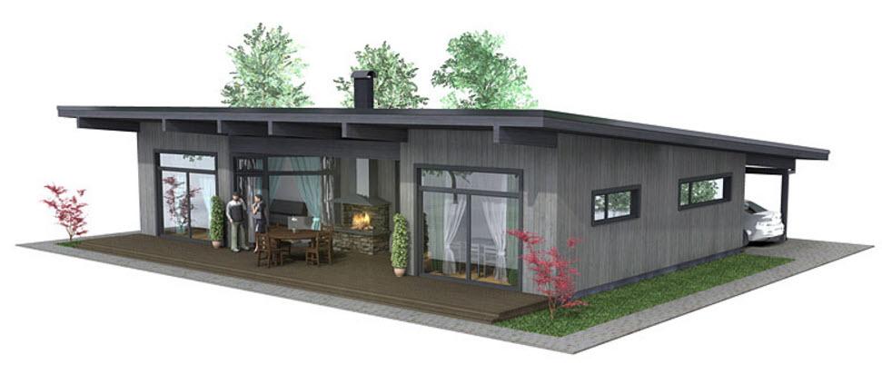 Dise o de casa de campo construye hogar for Diseno de hogar