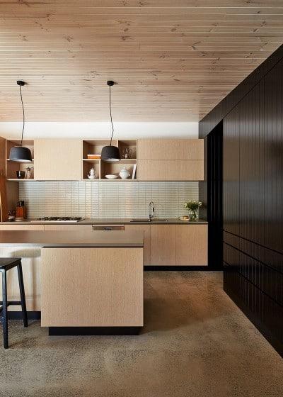 Diseño de cocina sencilla y moderna