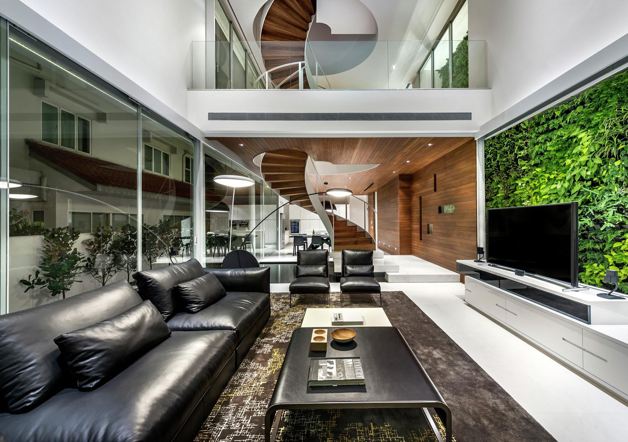 casa moderna cuatro dormitorios construye hogar
