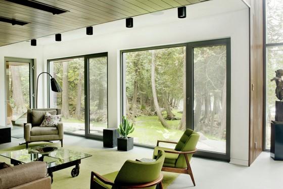 Diseño de sala casa de campo