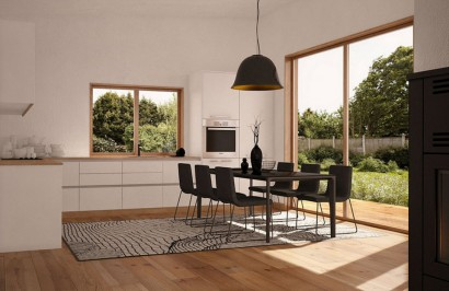 Render cocina comedor casa campo construye hogar for Render casa minimalista
