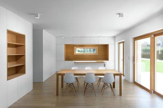 Planos de casa peque a de dos pisos for Ver cocina comedor