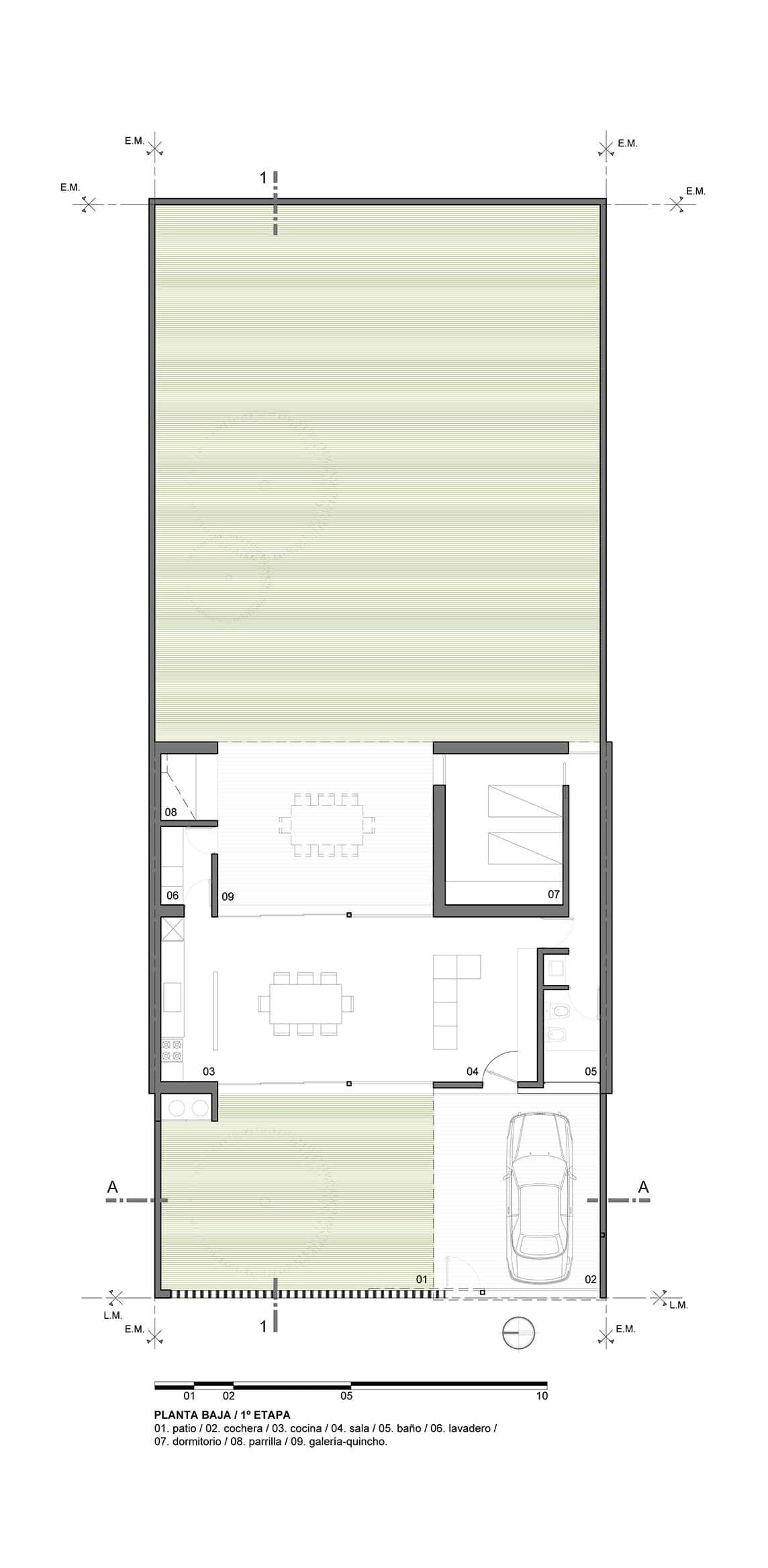 Casa de un piso y dos dormitorios construye hogar - Orientacion de un piso ...