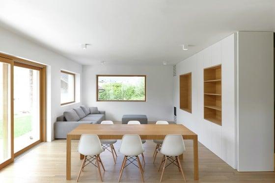Sala comedor minimalista estilo modular