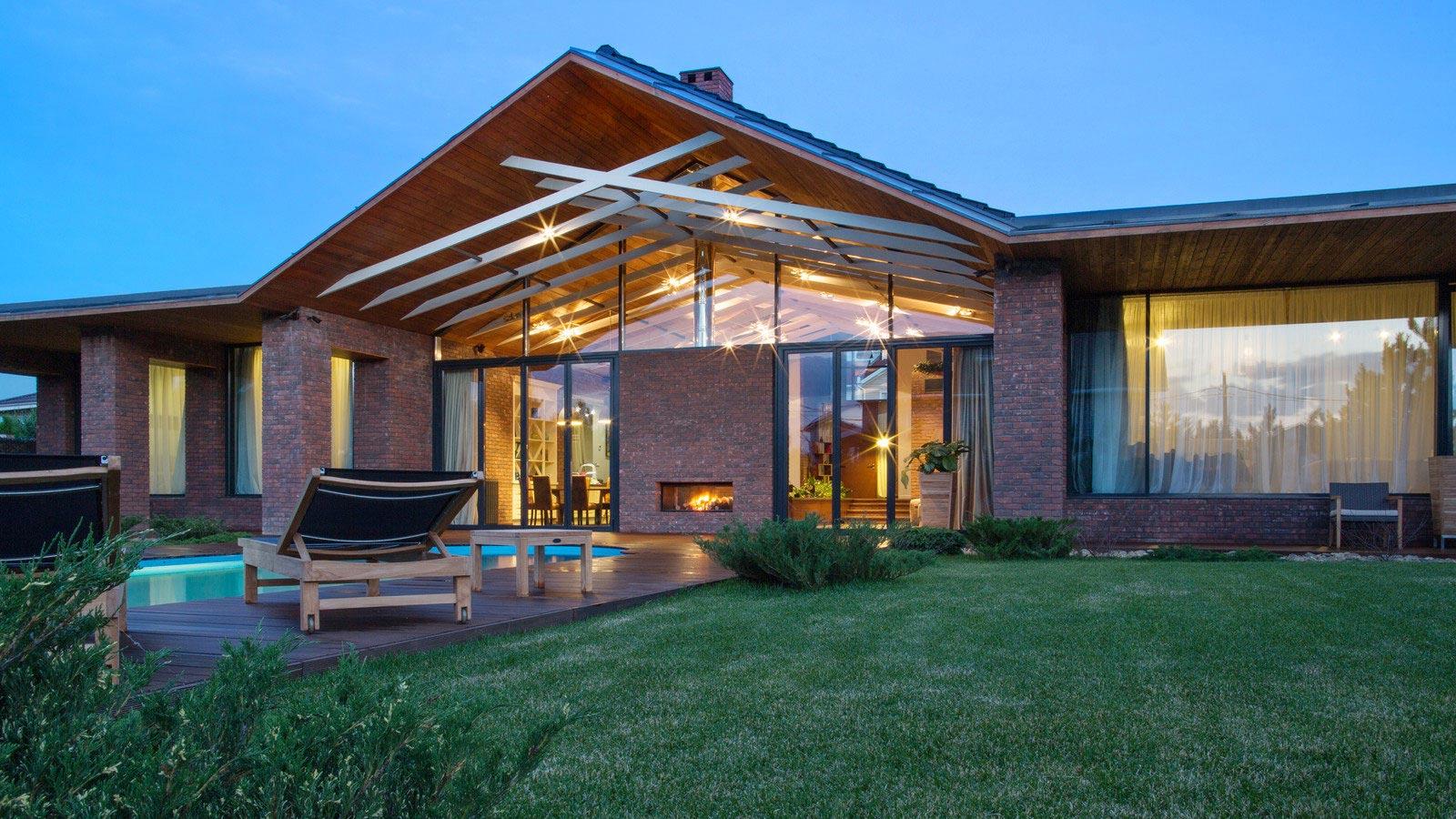 Casa de un piso de 390 metros cuadrados construye hogar for Design contemporaneo di una casa a un piano