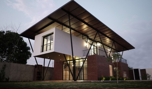 Fachadas de casas construye hogar part 5 for Techos modernos exterior